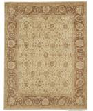 RugStudio presents Due Process Peshawar Tafresh Cream-Birch Hand-Knotted, Best Quality Area Rug