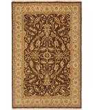 RugStudio presents Due Process Thana II Oushak Brown-Beige Hand-Knotted, Best Quality Area Rug
