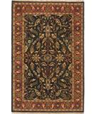 RugStudio presents Due Process Thana II Oushak Navy-Red Hand-Knotted, Best Quality Area Rug