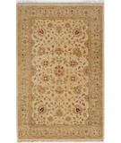 RugStudio presents Due Process Thana II Tabriz Sand-Beige Hand-Knotted, Best Quality Area Rug