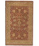 RugStudio presents Due Process Thana II Tabriz Sienna-Gold Hand-Knotted, Best Quality Area Rug