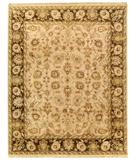 RugStudio presents Due Process Thana Kashan Fawn-Mocha Hand-Knotted, Best Quality Area Rug