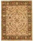 RugStudio presents Due Process Thana Oushak Light Gold-Mocha Hand-Knotted, Best Quality Area Rug