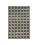 RugStudio presents DwellStudio Chelsea Chinois Bl Flat-Woven Area Rug