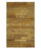 RugStudio presents Dynamic Rugs Allure 1991-707 Gold Hand-Tufted, Best Quality Area Rug