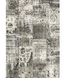 RugStudio presents Dynamic Rugs Infinity 32487-6595 Charcoal / Silver Woven Area Rug