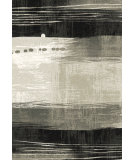 RugStudio presents Dynamic Rugs Infinity 32978-6535 Silver / Black Woven Area Rug
