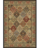 RugStudio presents Dynamic Rugs Ancient Garden 57008-3333 Green / Multi Woven Area Rug