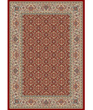 RugStudio presents Dynamic Rugs Ancient Garden 57011-1414 Red / Ivory Woven Area Rug