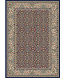 RugStudio presents Dynamic Rugs Ancient Garden 57011-3363 Black / Ivory Woven Area Rug