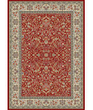 RugStudio presents Dynamic Rugs Ancient Garden 57078-1414 Red / Ivory Woven Area Rug