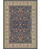 RugStudio presents Dynamic Rugs Ancient Garden 57078-3434 Blue / Ivory Woven Area Rug