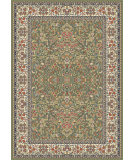 RugStudio presents Dynamic Rugs Ancient Garden 57078-4444 Green / Ivory Woven Area Rug