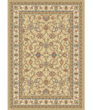 RugStudio presents Dynamic Rugs Ancient Garden 57120-2464 Light Gold / Ivory Woven Area Rug