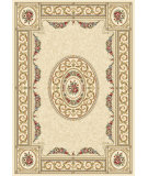 RugStudio presents Dynamic Rugs Ancient Garden 57226-6464 Blue / Ivory Woven Area Rug
