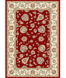 RugStudio presents Dynamic Rugs Ancient Garden 57365-1464 Red / Ivory Woven Area Rug