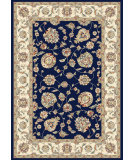 RugStudio presents Dynamic Rugs Ancient Garden 57365-3464 Blue / Ivory Woven Area Rug
