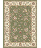 RugStudio presents Dynamic Rugs Ancient Garden 57365-4464 Green / Ivory Woven Area Rug