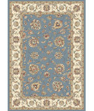 RugStudio presents Rugstudio Sample Sale 68663R Light Blue / Ivory Woven Area Rug