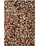 RugStudio presents Dynamic Rugs Leather Work 8108-666 Mosaic Area Rug