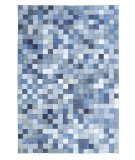 RugStudio presents Dynamic Rugs City 2310-550 Denim Hand-Tufted, Good Quality Area Rug