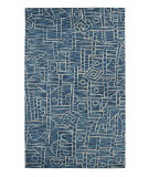 RugStudio presents Dynamic Rugs Dream 2665-515 Blue Woven Area Rug