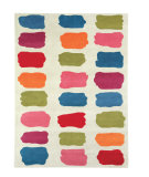 RugStudio presents Dynamic Rugs Fan Girls 1701-100 Hand-Tufted, Good Quality Area Rug