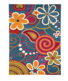 RugStudio presents Dynamic Rugs Fantasia 1704-500 Hand-Tufted, Good Quality Area Rug