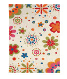 RugStudio presents Dynamic Rugs Fan Girls 1705-100 Hand-Tufted, Good Quality Area Rug