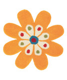 RugStudio presents Dynamic Rugs Flower 1706-700 Hand-Tufted, Good Quality Area Rug