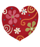 RugStudio presents Dynamic Rugs Heart 1708-300 Hand-Tufted, Good Quality Area Rug