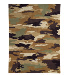 RugStudio presents Dynamic Rugs Fan Boys 1709-600 Hand-Tufted, Good Quality Area Rug