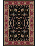 RugStudio presents Dynamic Rugs Radiance 43002-3212 Black Machine Woven, Good Quality Area Rug