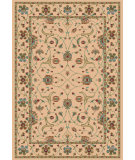 RugStudio presents Dynamic Rugs Radiance 43005-6464 Ecru Machine Woven, Best Quality Area Rug