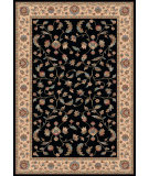 RugStudio presents Dynamic Rugs Radiance 43012-3262 Black Machine Woven, Best Quality Area Rug