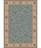RugStudio presents Dynamic Rugs Radiance 43012-5464 Blue Machine Woven, Good Quality Area Rug