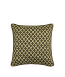 RugStudio presents Elaine Smith Outdoor Pillow Lattice Chocolate GL1