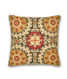 RugStudio presents Elaine Smith Outdoor Pillow Suzani GQ1