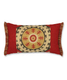 RugStudio presents Elaine Smith Outdoor Pillow Suzani GQ3