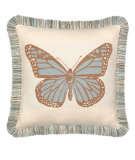 RugStudio presents Elaine Smith Outdoor Pillow Butterfly Spa TM6