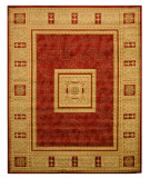 RugStudio presents Eastern Rugs Divinity Ant4670 Red Machine Woven, Good Quality Area Rug
