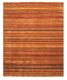 RugStudio presents Rugstudio Sample Sale 65969R Red Hand-Knotted, Better Quality Area Rug