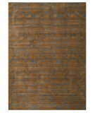RugStudio presents Rugstudio Sample Sale 65973R Blue Hand-Knotted, Good Quality Area Rug
