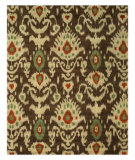 RugStudio presents Eastern Rugs Odyssey Ie26bn Brown Hand-Tufted, Good Quality Area Rug