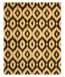 RugStudio presents Eastern Rugs Odyssey Ie27bk Brown Hand-Tufted, Good Quality Area Rug