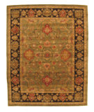 RugStudio presents Eastern Rugs Odyssey Ie725gn Green Hand-Tufted, Better Quality Area Rug
