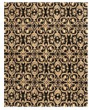 RugStudio presents Eastern Rugs Odyssey Ie8383bk Black Hand-Tufted, Better Quality Area Rug