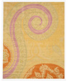 RugStudio presents Eastern Rugs Odyssey Ie8780a Yellow Hand-Tufted, Better Quality Area Rug