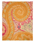 RugStudio presents Eastern Rugs Odyssey Ie8780b Orange Hand-Tufted, Better Quality Area Rug