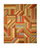 RugStudio presents Eastern Rugs Premier Kil1mu Multi Flat-Woven Area Rug